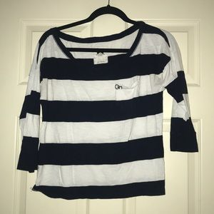 long sleeve striped t shirt from Gilly Hicks